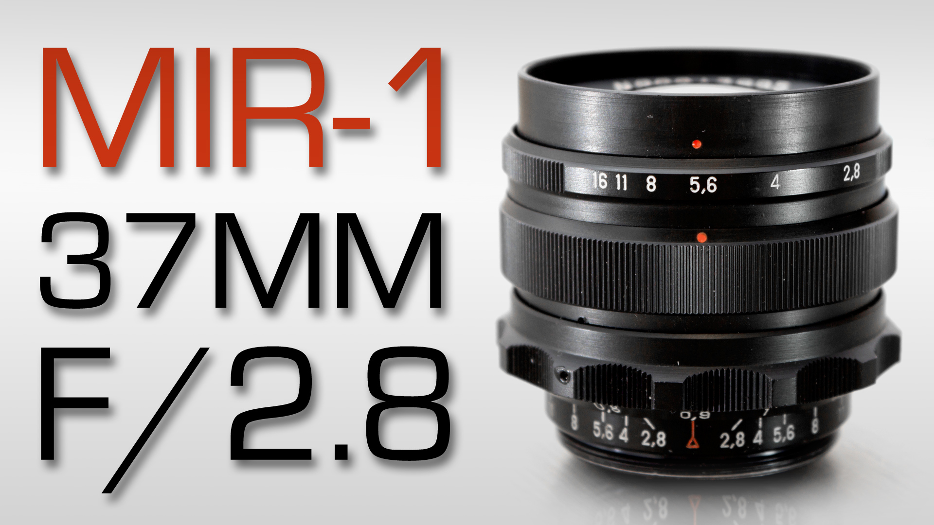 MIR-1 37mm F/2.8 REVIEW + TEST FOOTAGE