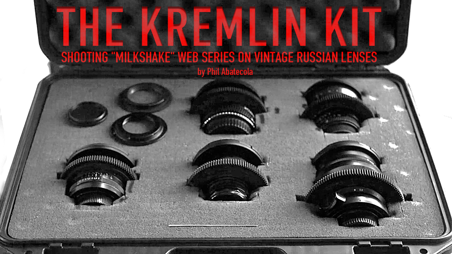 "Shooting ""Milkshake"" Web Series on Vintage Russian Lenses"