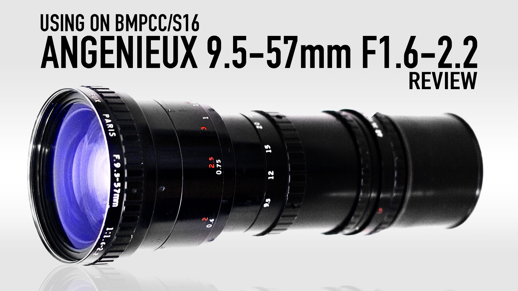 Using Angenieux 9.5-57mm F1.6-2.2 on BMPCC/S16 | In-depth REVIEW