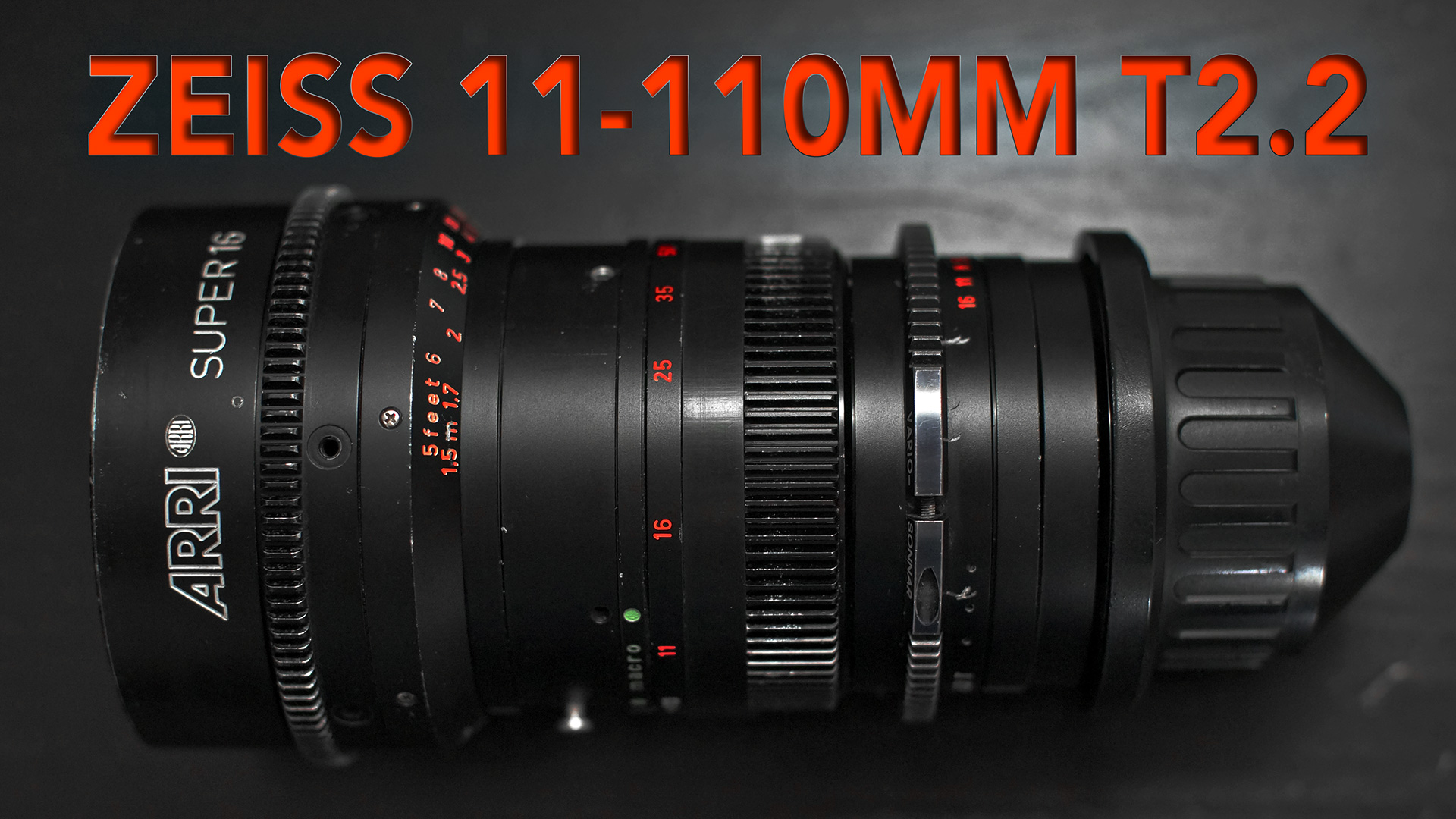 Carl Zeiss Vario-Sonnar 11-110mm T2 S16 Zoom | REVIEW