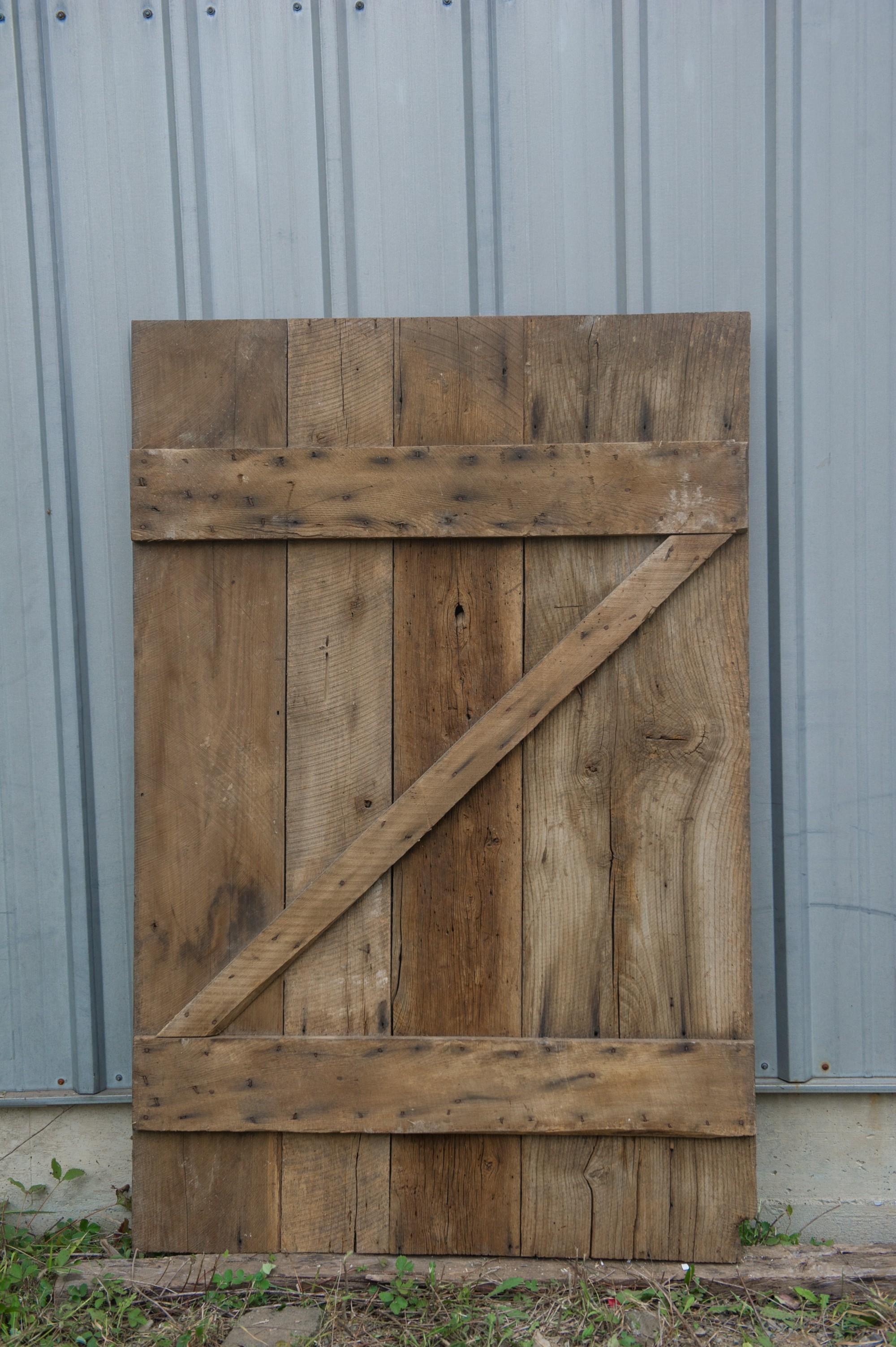 wide brown pine barn door vintage lumber vintage lumber on Brown Barn Door id=77703