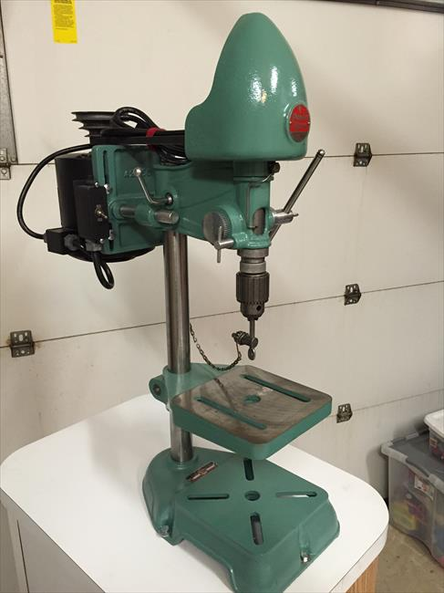 Photo Index Power King Tool Corp Bench Drill Press