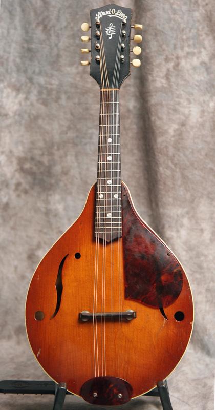 1940s Kay Strad O Lin Mandolin