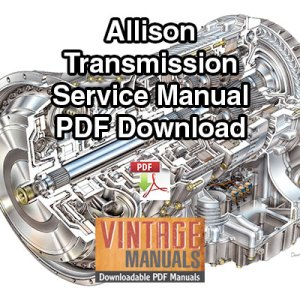 Allison transmission Maintenance manual