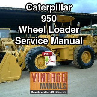 Caterpillar 950 Wheel Loader Service Manual