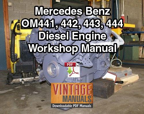 mercedes benz workshop manual pdf