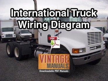 international 4200, 4300, 4400 truck wiring diagram pdf (2000-2001 build)