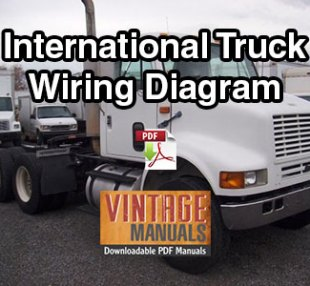 international 4200, 4300, 4400 truck wiring diagram pdf (2000-2001 build)