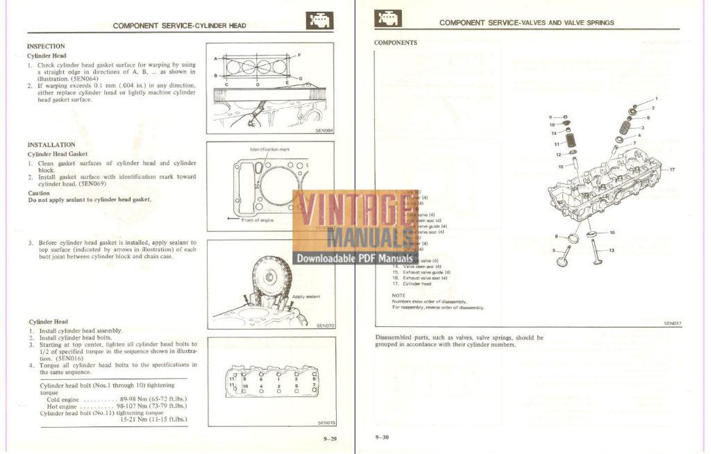 1983 Mitsubishi Montero Factory Service Manual