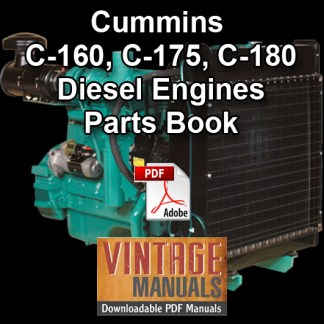 Cummins C Series Parts Book