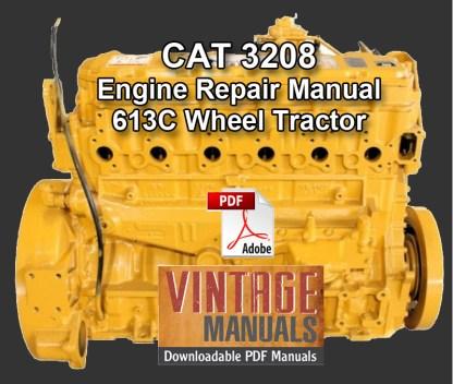 CAT 3208 engine repair