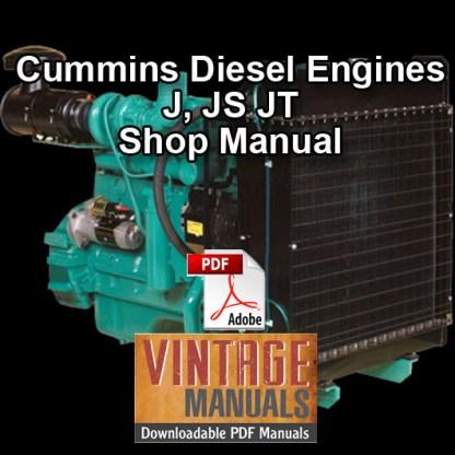 Cummins Diesel Engine Shop Manual