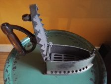 kooltjes strijkijzer geopend