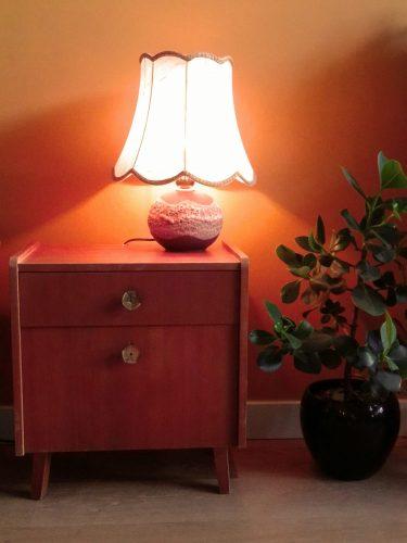 vintage jaren 60 lamp
