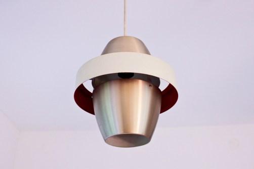 DDR-Lampe von PGH Metalldrücker Halle