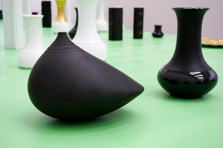 Pollo, 1970 and Vase 7150 from 1966