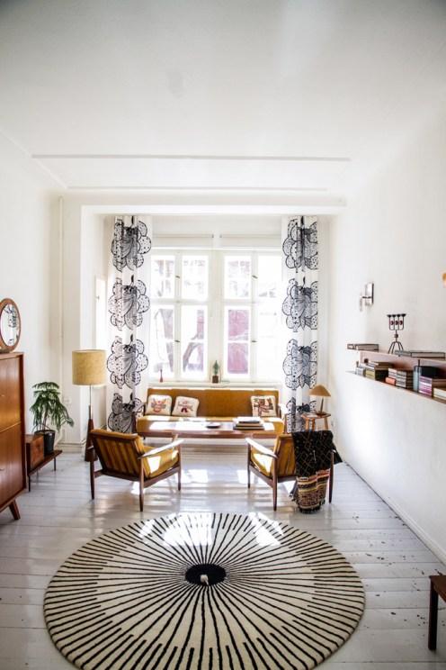 Vintage Retro Look Living Room