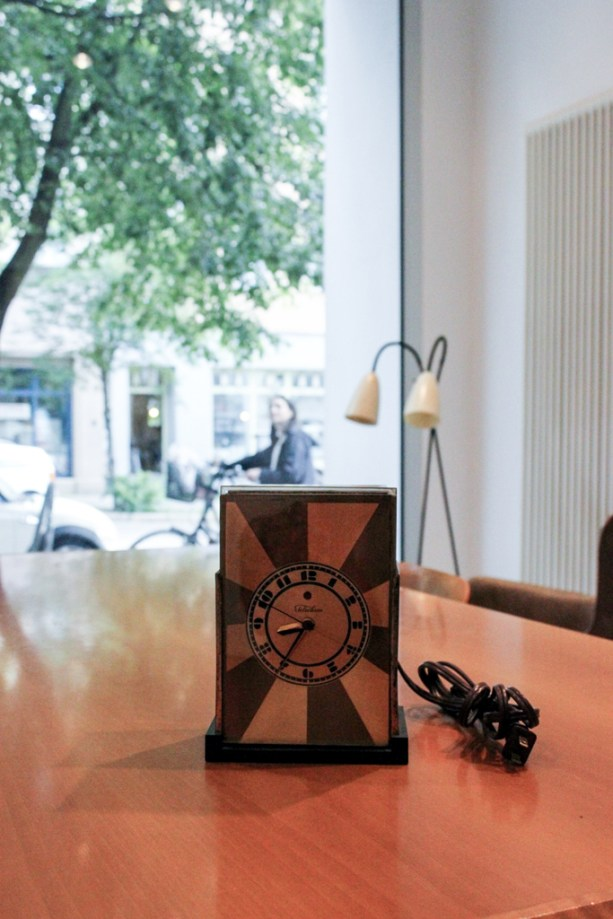 """Modernique"" Clock, Paul Frank"