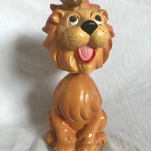 Lion King Extremely Scarce Advertising Nodder 1963 Vintage Bobblehead