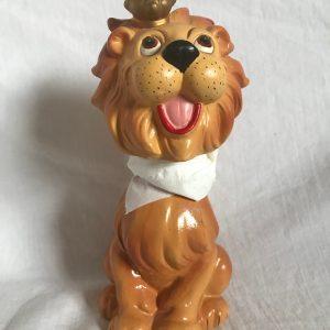 Lion King 1960 Vintage Bobblehead Extremely Scarce Advertising Nodder