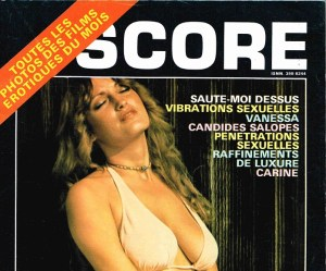 Score (France) Vintage Porn Magazine 6 [Full Scans]