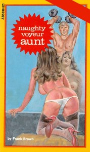 AB-5336 NAUGHTY VOYEUR AUNT by Frank Brown (1982) [E-Book] [Download]