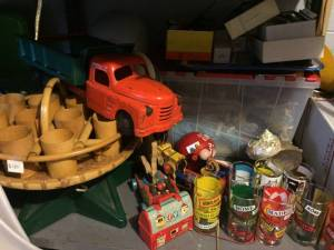 Buying antiques and vintage toys and games