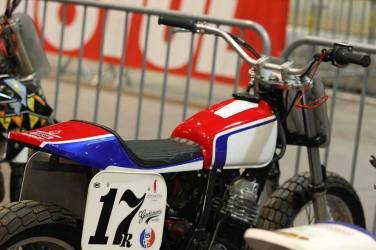 Flat Track Indoor - Vintage Racing Spirit - Ian Osborne 5