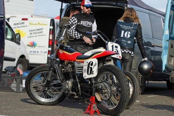 Flat Track Indoor - Vintage Racing Spirit - Ian Osborne 10