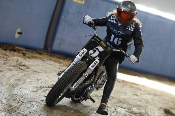 Flat Track Indoor - Vintage Racing Spirit - Ian Osborne 26