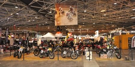 Vintage Racing Spirit - Salon du 2 roues 2016 - 1