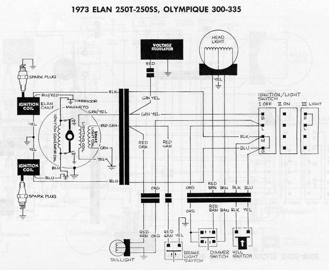 Wire Diagram Yamaha Rd250