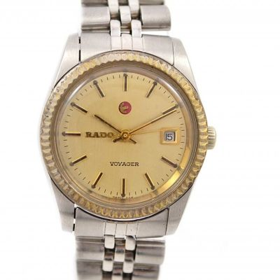 Rado Voyager Date Stainless Steel Automatic Ladies Watch