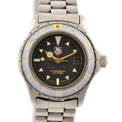 Vintage Tag Heuer 2000 Series Quartz Stainless Steel 972.608F Womens Watch