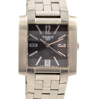 Pre-Owned Tissot 1853 T-Trend Date Quartz Men's Watch L860/960