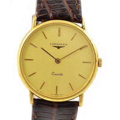 Pre-Owned Longines Quartz Midsize Watch