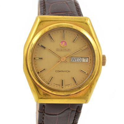 Rado Companion Day date Gold plated Automatic Men's Watch