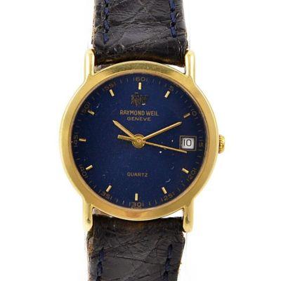 Raymond Weil Geneve 5307 Gold Plated Quartz Ladies Watch