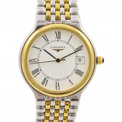 Pre-Owned and Collectible Longines Le Grandes Classiques Date Quartz Midsize Watch