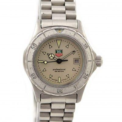 Tag Heuer 2000 Series Stainless Steel Quartz Ladies 972.008F Watch