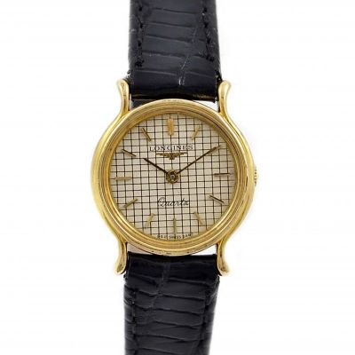 Vintage Longines Classic L.962.2 Gold Plated Ladies Quartz Watch