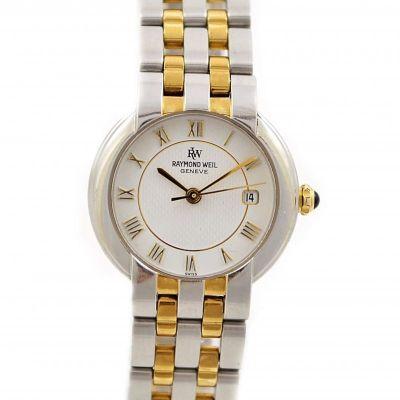 Pre-Owned Raymond Weil Geneve Date Quartz Ladies Watch 9970
