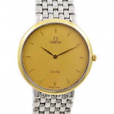 Pre-Owned and Classic Omega De Ville Date Quartz Midsize Watch