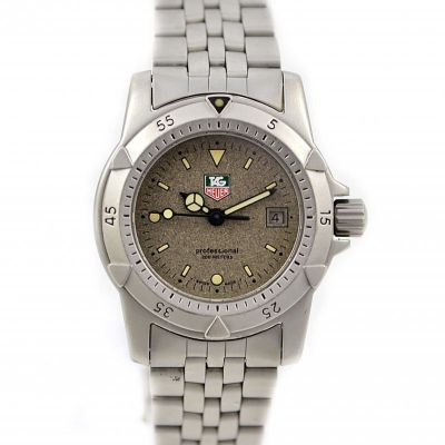 Pre-Owned and Collectible Tag Heuer 1500 Professional Exclusive Quartz Ladies Watch Model 959-708G-2