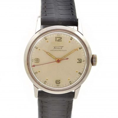 Pre-Owned Tissot Antimagnetique Manual Winding Midsize Watch