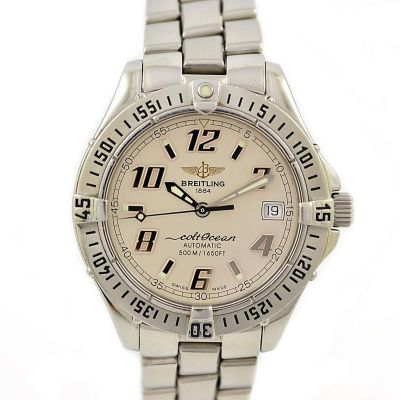 Breitling Aeromarine Colt Ocean A17350 Automatic Chronometer Watch time piece