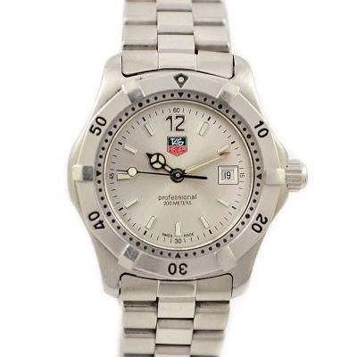 Vintage Tag Heuer 2000 Series WK1312-1 Quartz Stainless Steel Ladies Watch time piece