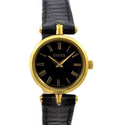 Vintage Gucci 2000L Gold Plated Quartz Ladies Watch original