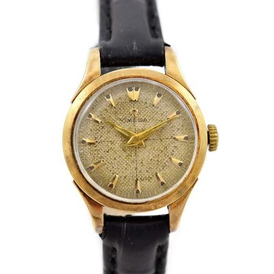 Vintage Omega Cal.252 Hand Wind Gold Plated Ladies Watch