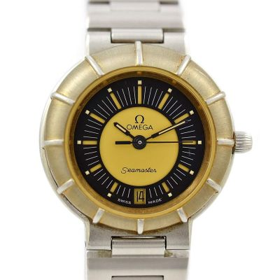 Vintage Omega Seamaster Dynamic 'Spidey' Quartz Cal.1426 Ladies Watch